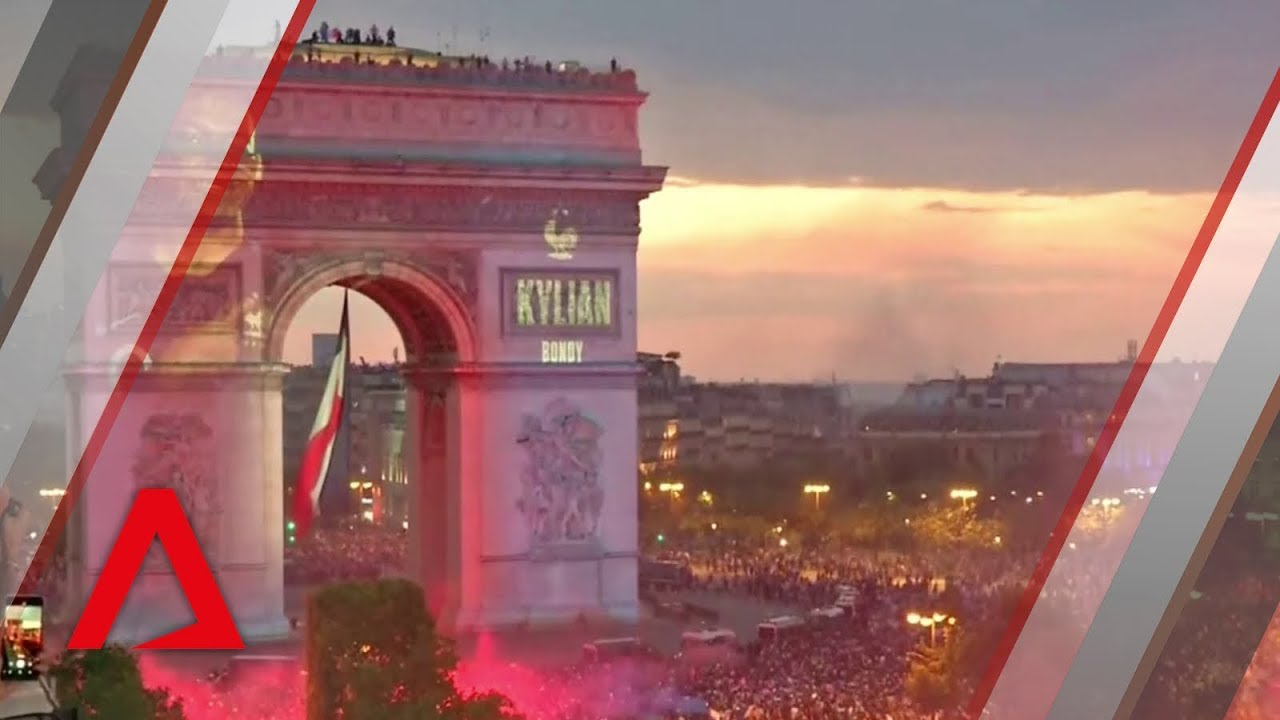 Cheers and chaos after France's World Cup victory