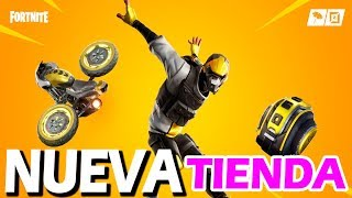 NEW SKIN AGGRESSIVE DRIVER - NEW FORTNITE OBJECT STORE TODAY 06 SEPTEMBER 2019