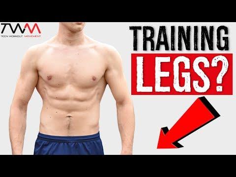 Home Leg Workout For TEENS! (No Gym/Equipment)