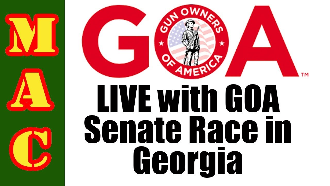 LIVE with GOA - Senate Race in Georgia!