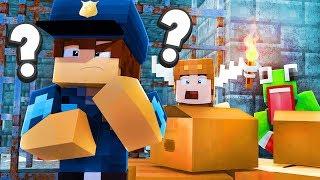 Minecraft Daycare - PRISON HIDE & SEEK! w/ MOOSECRAFT (Minecraft Kids Roleplay)