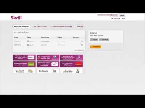 transfer money from skrill to bank account