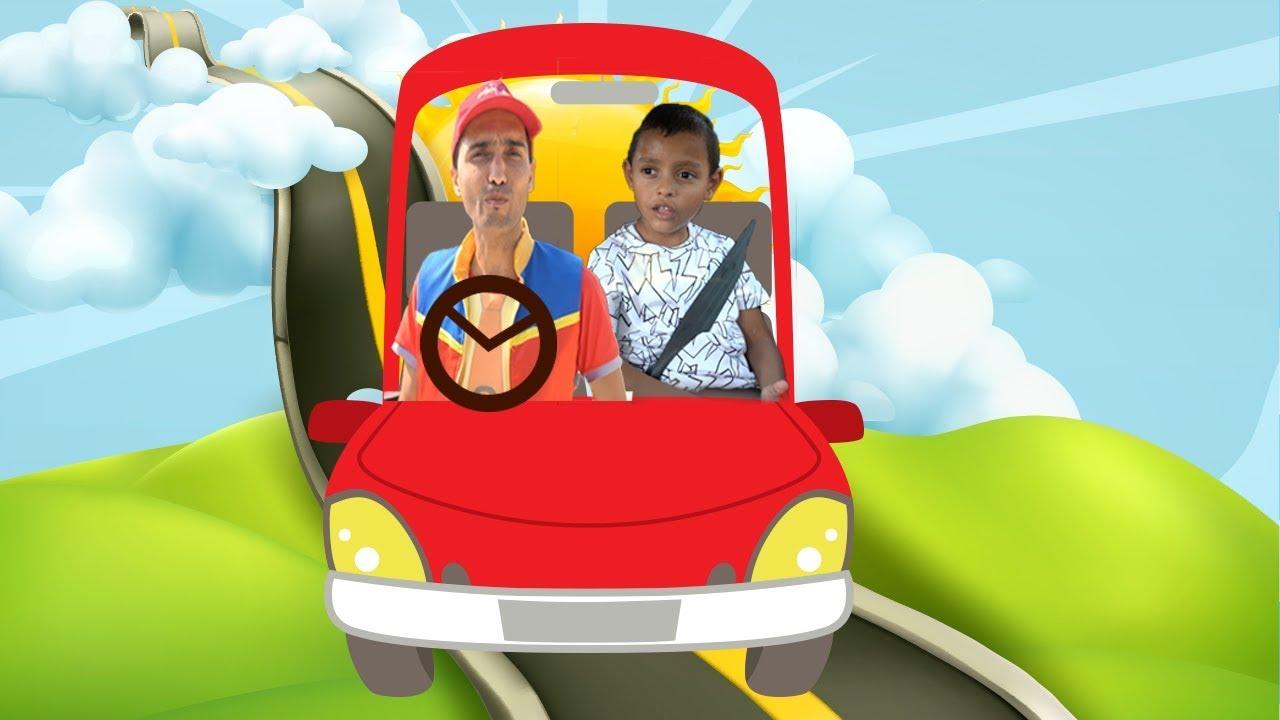 عمو صابر - نسيان الاطفال في السيارة -  amo saber forgetting children in the car