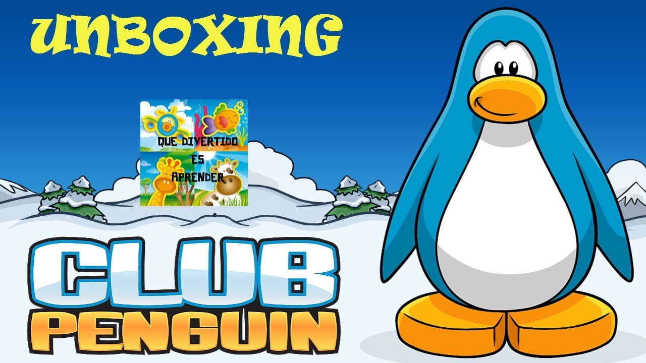 Unboxing peluches y más del CLUB PENGUIN - YouTube