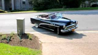 1953 Buick starting and driving