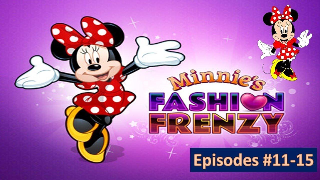 Minnie S Fashion Frenzy Disney Junior Games Minnie