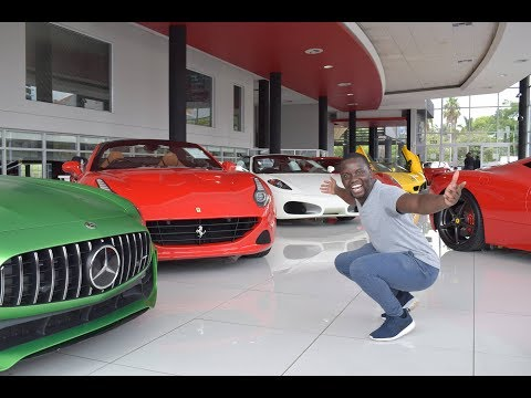 INSANE Supercar Dealership In South Africa