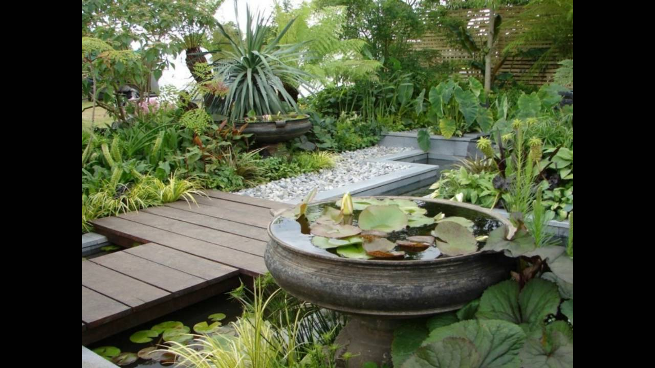 Dise o jardin japones para los espacios de exterior youtube for Jardines de exterior