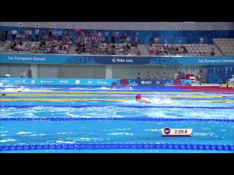 Плавание. Смешанная комбинированная эстафета 4х100. Финал. Победа