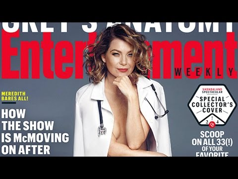 'Grey's Anatomy' Star Ellen Pompeo Goes Nude! See Her Sexy New Cover