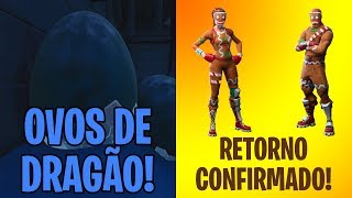 DRAGON EGGS and CONFIRMED COOKIE SKINS-Fortnite Battle Royale