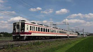 東武6050系6050型6160F 普通東武日光行 北鹿沼~板荷通過【4K】