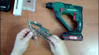 Martillo Taladro Perforador Recargable a Bateria PABH 20-LI B2 Parkside LIDL