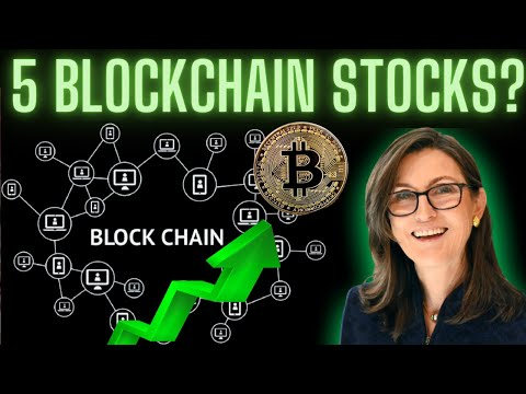 5 BEST BLOCKCHAIN Stocks? | I Bought One! | Crypto Currency Investing