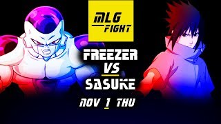 MLG FIGHT! FREEZER VS SASUKE! Jump Force
