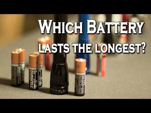 Which Battery Lasts the Longest?