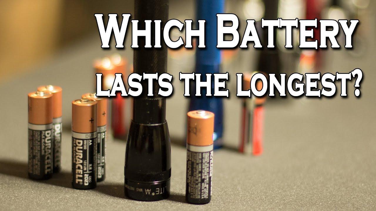 What battery last the longest?