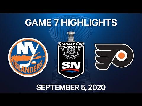NHL Highlights   2nd Round, Game 7: Islanders vs. Flyers – Sep. 5, 2020  