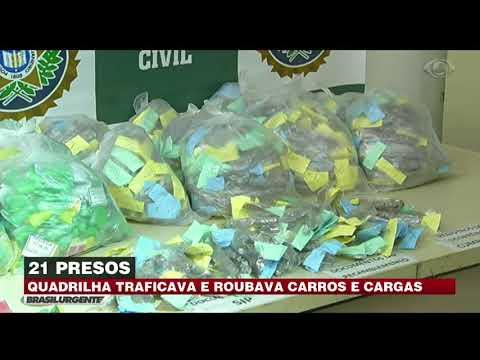 Operação prende 21 traficantes em Duque de Caxias