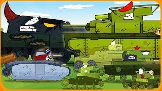 Все серии Война за деревню Мультики про танки