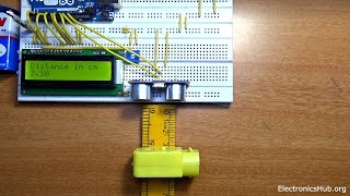 How To Build A Ultrasonic Range Finder With Arduino?