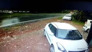bus accident | പാലച്ചിറമാട് ബസ് അപകടം:ബസ് മറിഞ്ഞത് CCTV ദൃക്ഷ്യം
