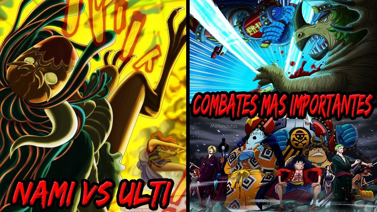 ¡NAMI VS ULTI! Los Combates Más Importantes en su Climax | El Paradero de Denjiro | ONE PIECE 1013