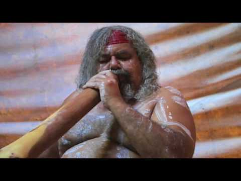 Traditional Didgeridoo Rhythms  Lewis Burns, Aboriginal Australian Artist