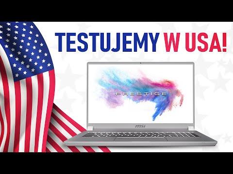 Test laptopa MSI