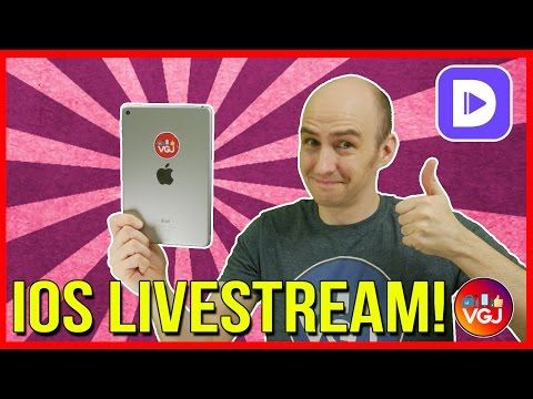 Livestream Your iOS Screen. Directly From an iPhone or iPad. No Jailbreak. No PC (2017)... FINALLY!
