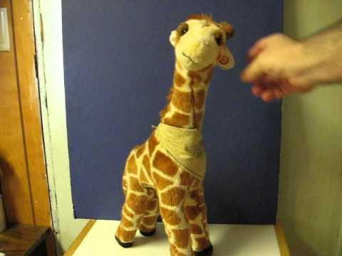 Sale Item Demo Toys R Us Talking Geoffrey Giraffe Youtube