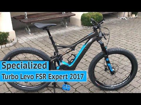 specialized turbo levo fsr expert 6fattie 2017 e bike. Black Bedroom Furniture Sets. Home Design Ideas