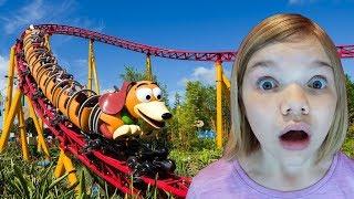 Toy Story Land! Disney World Hollywood Studios