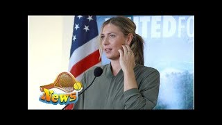 Maria sharapova slams tennis authorities: 'i had to read about this online!'