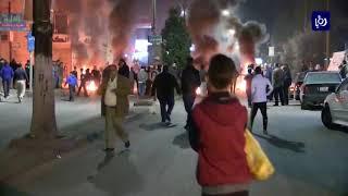 أعمال شغب في اربد إثر مقتل ثلاثيني - (1-12-2017)