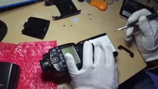 canon speedlite 600ex-rt reparer diffuseur