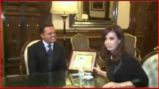 Luis Miguel y Presidenta de Argentina (2012) Nuevo Vídeo en...