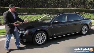 2012 Audi A8-L Test Drive & Car Review(http://www.autobytel.com/audi/a8/?id=32972 The 2012 Audi A8 is a perfect example of what a full sized luxury sedan should be. On the outside the Audi A8 is ..., 2012-02-15T08:46:44.000Z)