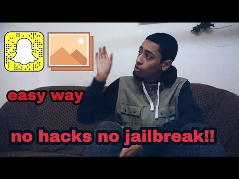 How to upload someone elses snapchat story