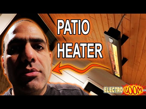 Electric Patio Heater Wiring and Installation