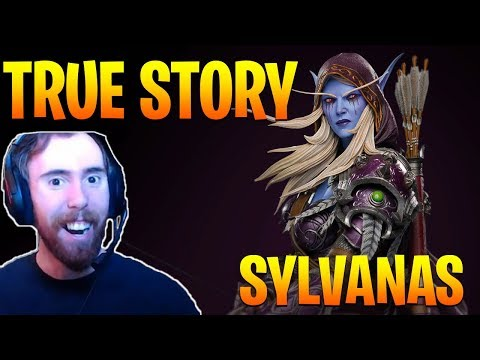 """Asmongold Reacts to """"The True Story of Sylvanas Windrunner!"""" by Nixxiom - World of Warcraft"""