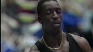 1994年国際室内陸上 200m マイケルジョンソン20秒81