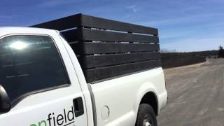 How to make wood side rack for truck - 2016 / GreenField Landscapers
