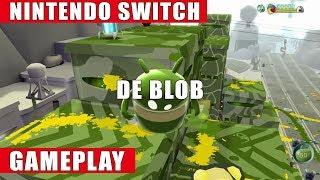 de Blob Nintendo Switch Gameplay