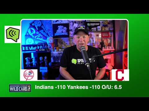 New York Yankees vs Cleveland Indians AL Wildcard Game 1 Pick & Prediction MLB Pick 9/29/20 MLB Pick