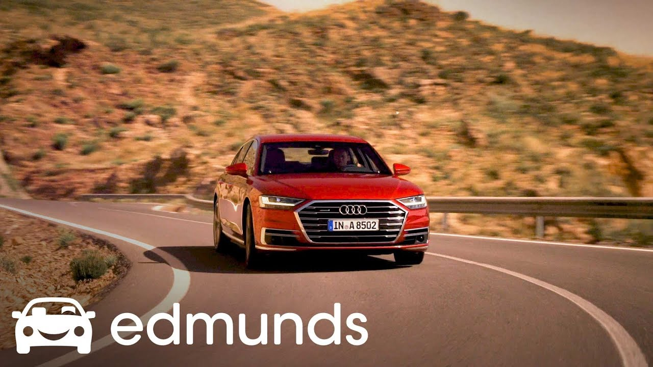 2019 Audi A8 Debut Edmunds Youtube