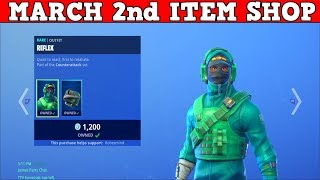 Fortnite Item Shop (March 2nd) | $1,000 Exclusive Skin In The Shop???????????