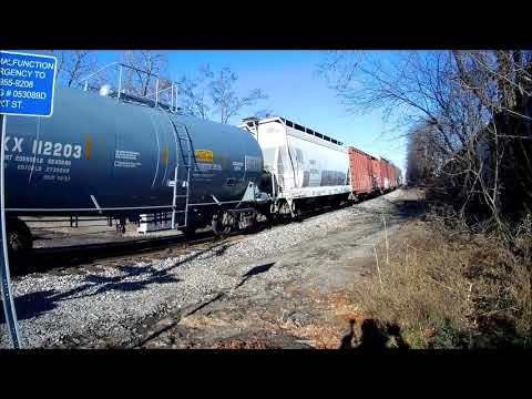 Pan Am Freight train at Exeter New Hampshire 11 29 20