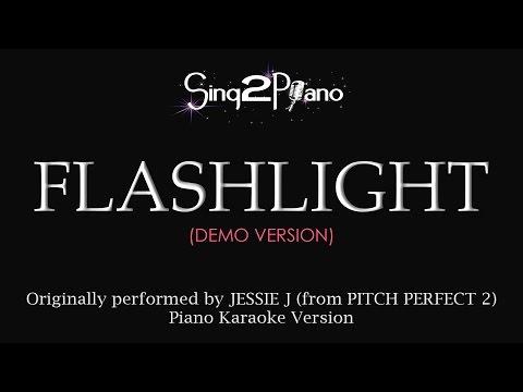 Flashlight (Piano karaoke demo) Jessie J & Pitch Perfect 2