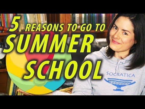 5 Reasons to go to SUMMER SCHOOL - Study Tips